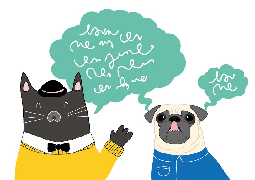 Kissat ja koiratkin ymmärtävät toisiaan
