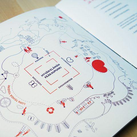 Kuopion kaupungin strategia inspiroivaksi osaksi arkea