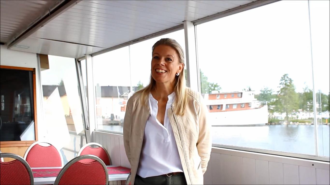 Kuopion kaupungin markkinointijohtaja Kirsi Soininen kertoo kaupungin strategiatyöstä